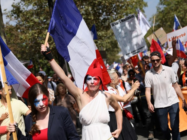 Pass sanitaire : nouveau samedi de mobilisation partout en France