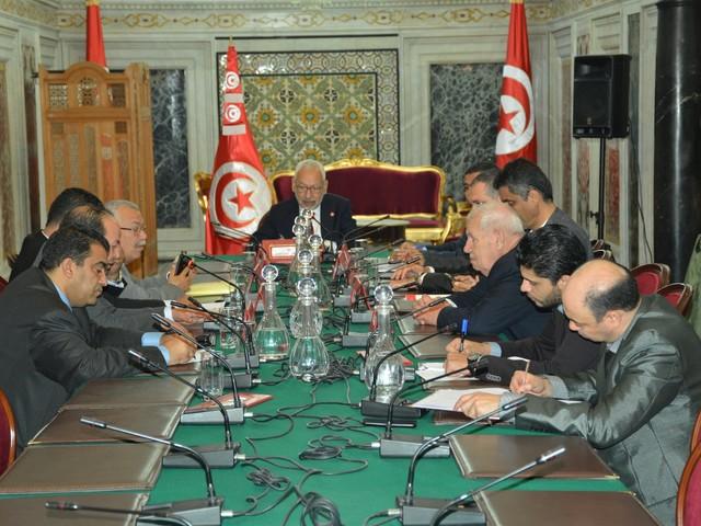 Tunisie : Rached Ghanouchi reçoit présidents des groupes parlementaires