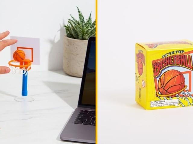 [TOPITRUC] Un panier de basketball pour bureau