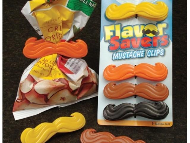 Clips Moustache x 4 - 6,92 €
