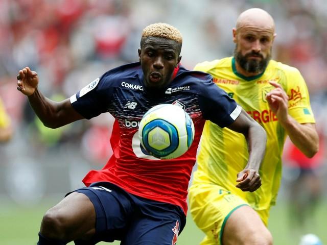 Lille vient à bout de Nantes grâce à Osimhen