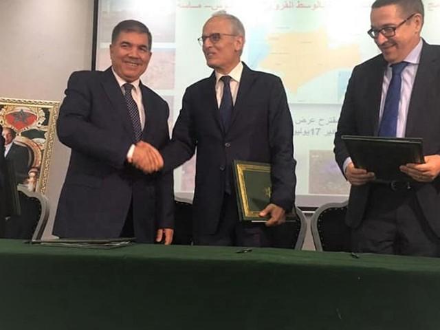 Signature d'une convention pour la mise à niveau des communes rurales de Souss Massa
