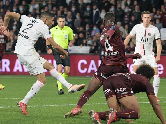 L1: Le Paris SG et Hakimi rois du finish