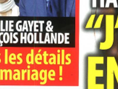 Julie Gayet et François Hollande, tous les détails du mariage (photo)