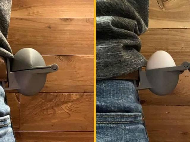 [TOPITRUC] Un etui à oeufs qui s'accroche à la ceinture (on a encore du mal à comprendre l'utilité)