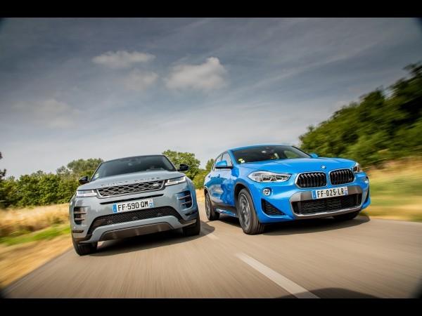 Match : Range Rover Evoque (2019) vs BMW X2