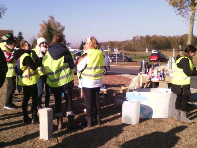 Indre-et-Loire : La mobilisation des gilets jaunes est montée en puissance toute la journée