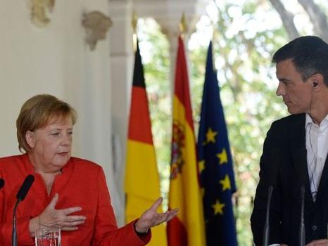 Migrations: Sanchez et Merkel d'accord pour soutenir le Maroc