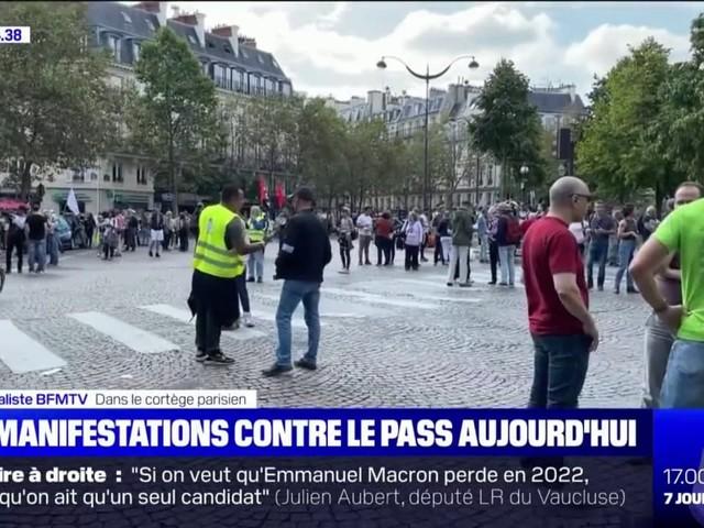 180 manifestations contre le pass sanitaire sont prévues ce samedi en France