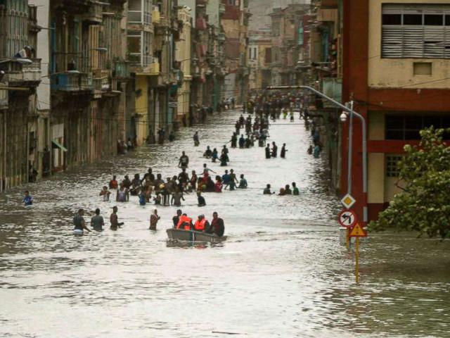 Environnement. Ouragans, changement climatique et dévastations
