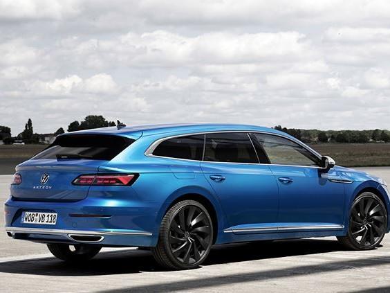 La Volkswagen Arteon Shooting Brake adopte une motorisation hybride rechargeable