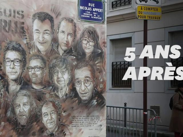 5 ans après Charlie Hebdo, l'exécutif rend hommage aux victimes