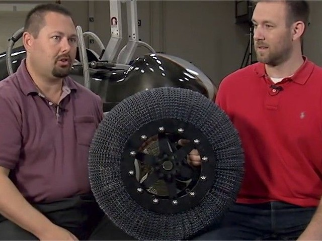 Missions martiennes : la NASA développe une roue increvable au nickel-titane