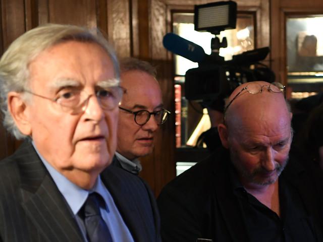 Bernard Pivot quitte l'Académie Goncourt, dont il était président