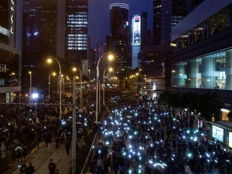Première manifestation pro-démocratie de 2020 à Hong Kong, 400 arrestations