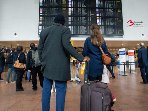 """Grève prévue à l'aéroport de Bruxelles: """"Arrivez trois heures à l'avance"""""""