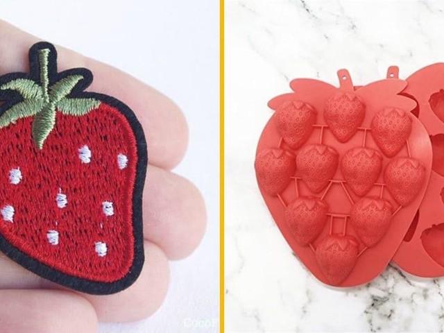 Top 30+ des objets pour les accros aux fraises, celles qui se mangent hein