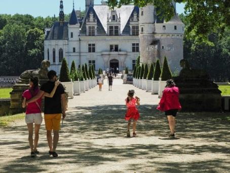 Réouverture discrète du château de Chenonceau