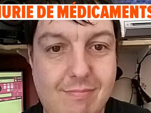 """Atteint d'une maladie rare, Christian ne trouve plus son antidouleur en pharmacie depuis 2 mois: """"Un état de STRESS ingérable"""""""