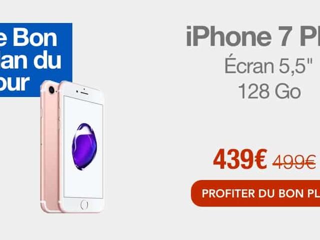 Bon plan : l'iPhone 7 Plus à 439€ sur Fnac