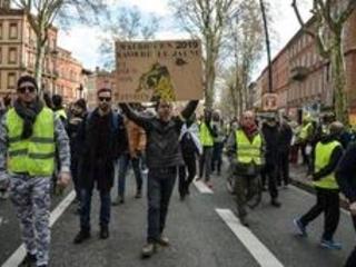 Gilets jaunes - Mobilisation record à Toulouse avec 10.000 manifestants, plus qu'à Paris