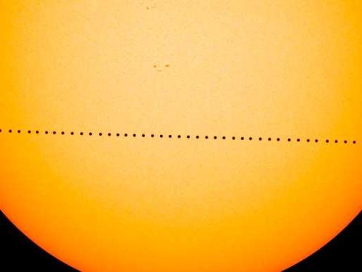 Mercure a rendez-vous avec le Soleil