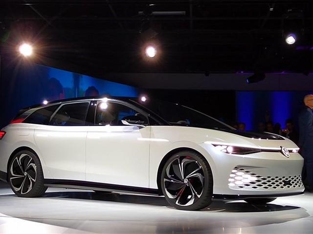 Volkswagen ID Space Vizzion : un break électrique avec 600 km d'autonomie