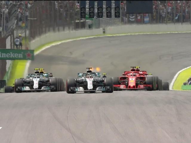 F1 Grand Prix du Brésil 2018 : Hamilton dans la souffrance offre le titre constructeur à Mercedes.