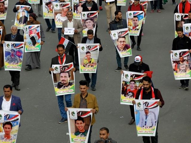 Irak: neuf manifestants tués à Bagdad, sanctions américaines contre des miliciens