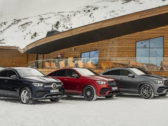 Le nouveau Mercedes GLE Coupé reçoit une motorisation hybride rechargeable diesel