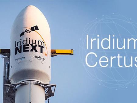 Iridium Certus : 1 000 équipements livrés
