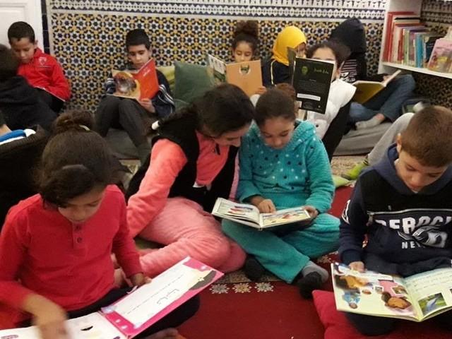 La bibliothèque des enfants de la médina à Fès: une porte ouverte sur le monde