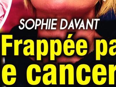 Sophie Davant,abominable maladie, elle ouvre son coeur(photo)