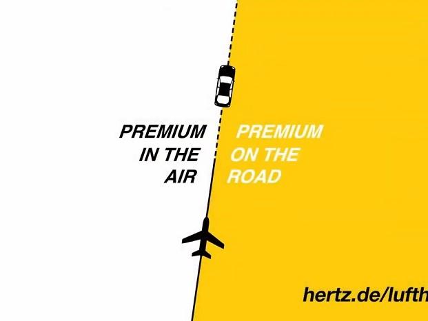 Premium : Hertz et Lufthansa lancent une campagne co-brandée