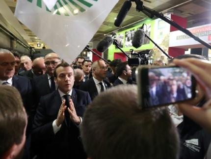 Agriculture: Macron promet de recevoir un groupe de gilets jaunes