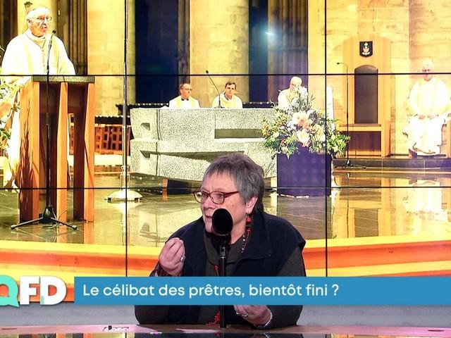 """Célibat des prêtres: """"La question du féminin est un impensé dans l'Eglise catholique"""""""
