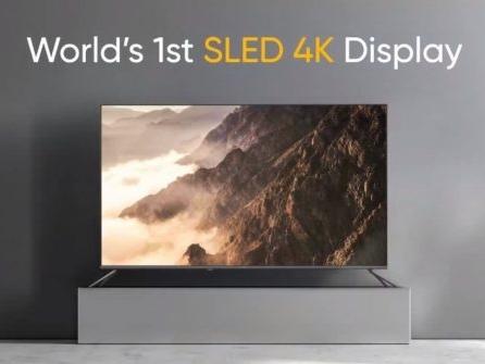 Realme a dévoilé un TV SLED 4K et quelques objets connectés