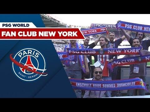 Quand le fan club New York du PSG traverse l'Atlantique pour vibrer au Parc…