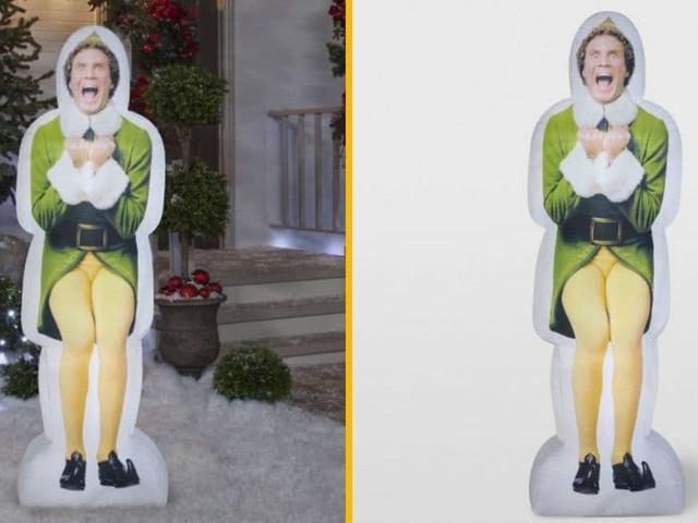 [TOPITRUC] Une structure gonflable de l'Elf Buddy, pour fêter Noël dignement