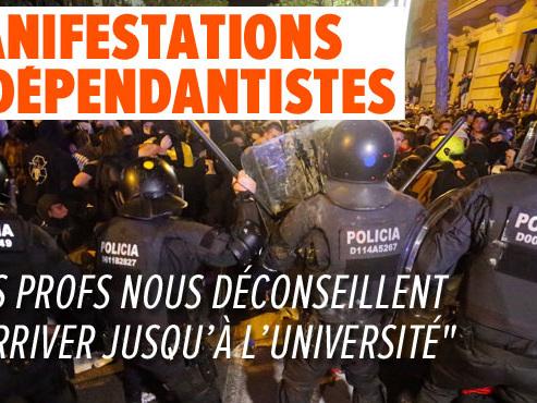 """Audrey, étudiante belge en Erasmus à Barcelone: """"On n'ose pas trop sortir de chez nous"""""""