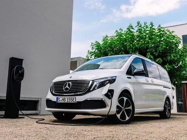 Mercedes EQV : le premier monospace premium et électrique