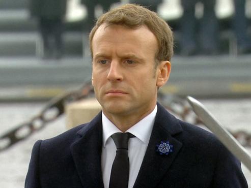 Macron commémore son premier 11 novembre