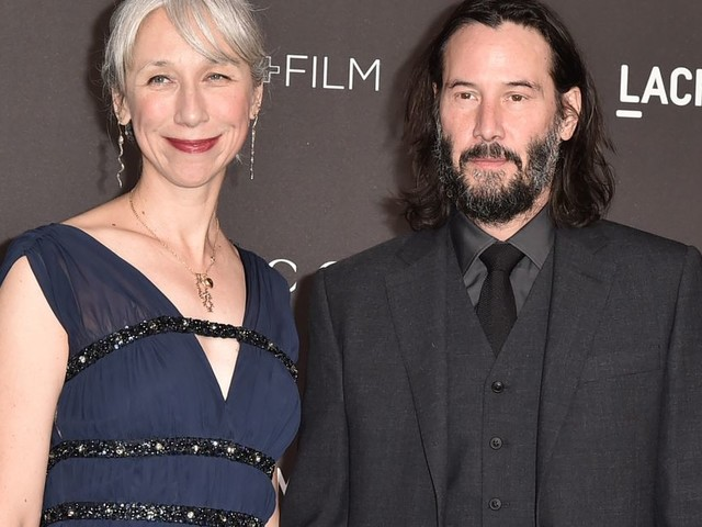 Keanu Reeves et sa compagne Alexandra Grant rayonnants sur le tapis rouge
