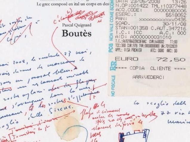 Archivage de manuscrits: quand la rature vaut de l'or