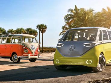 Volkswagen ID Buzz : le VW Combi reviendra en mode électrique en 2022