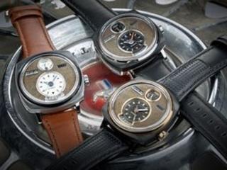 REC P-51 : une montre conçue à partir d'anciennes Ford Mustang