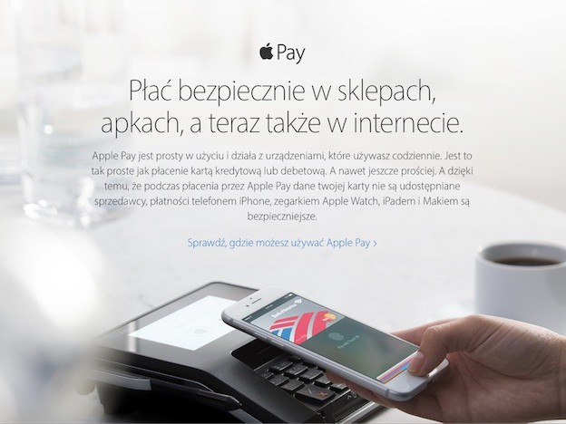 Apple Pay est maintenant disponible en Pologne
