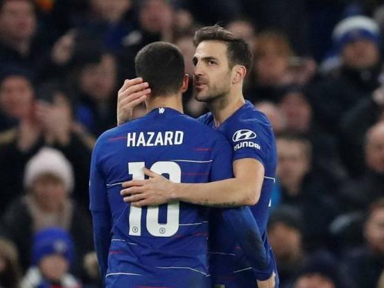 Foot - Cup - Chelsea - Chelsea s'impose en Cup contre Nottingham pour les adieux de Cesc Fabregas