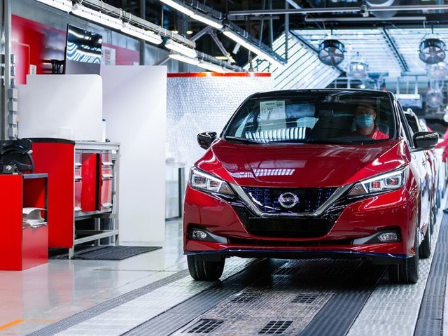 Actualité : Voitures électriques: Nissan a produit sa 500000e Leaf