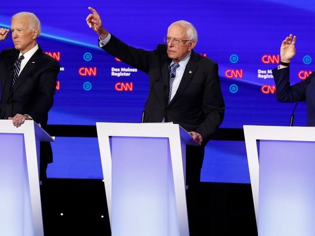 Au 7e débat démocrate, Bernie Sanders sort timidement du lot avant les primaires